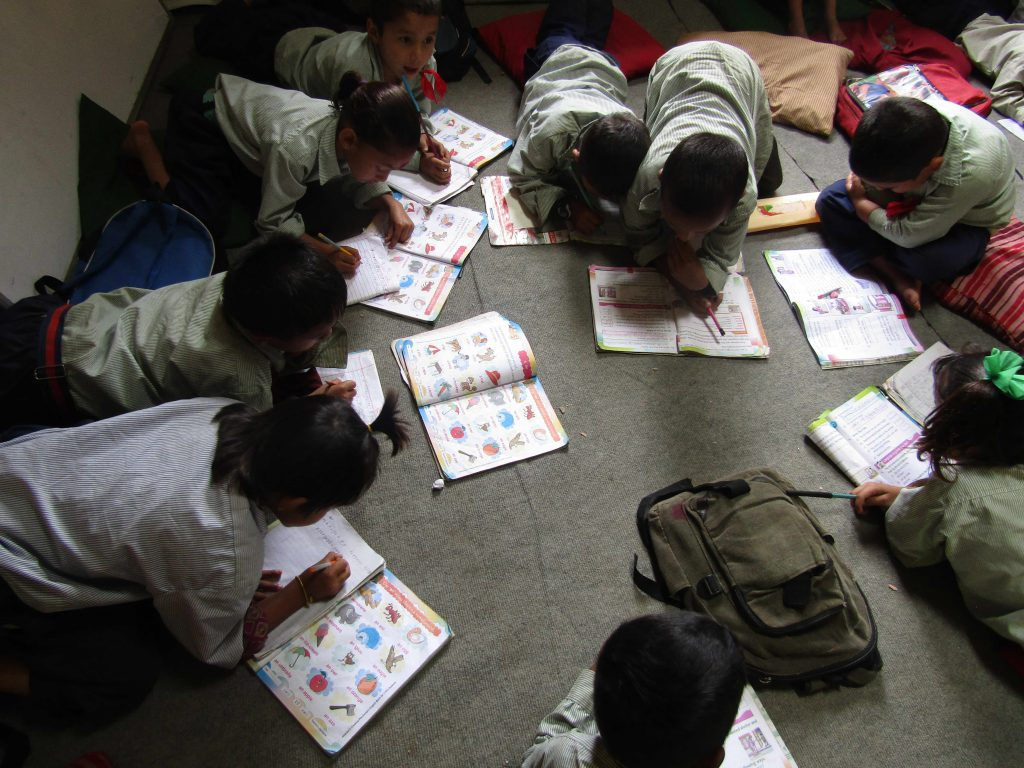 Jalpashwori students, Sept. 2018