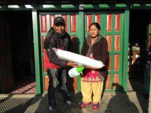 Growing mushrooms in Nepal