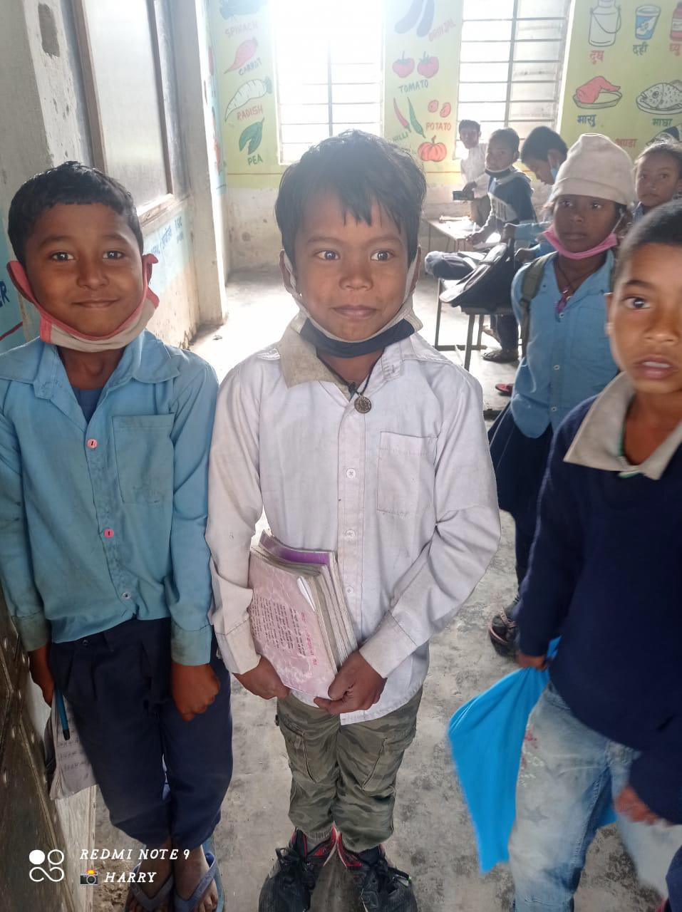 Students in a Ramdhuni classroom