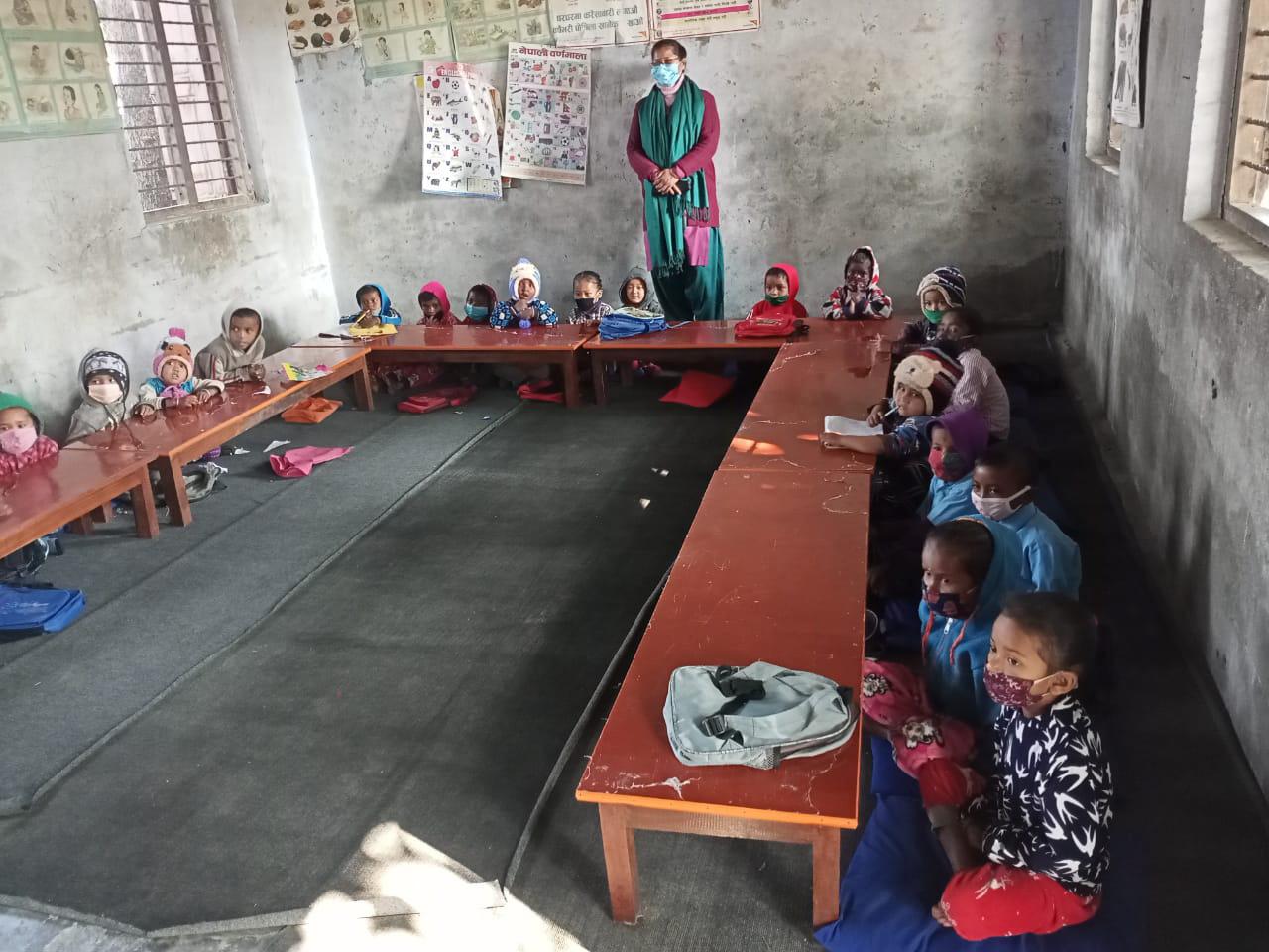 Classroom, Dec. 2020