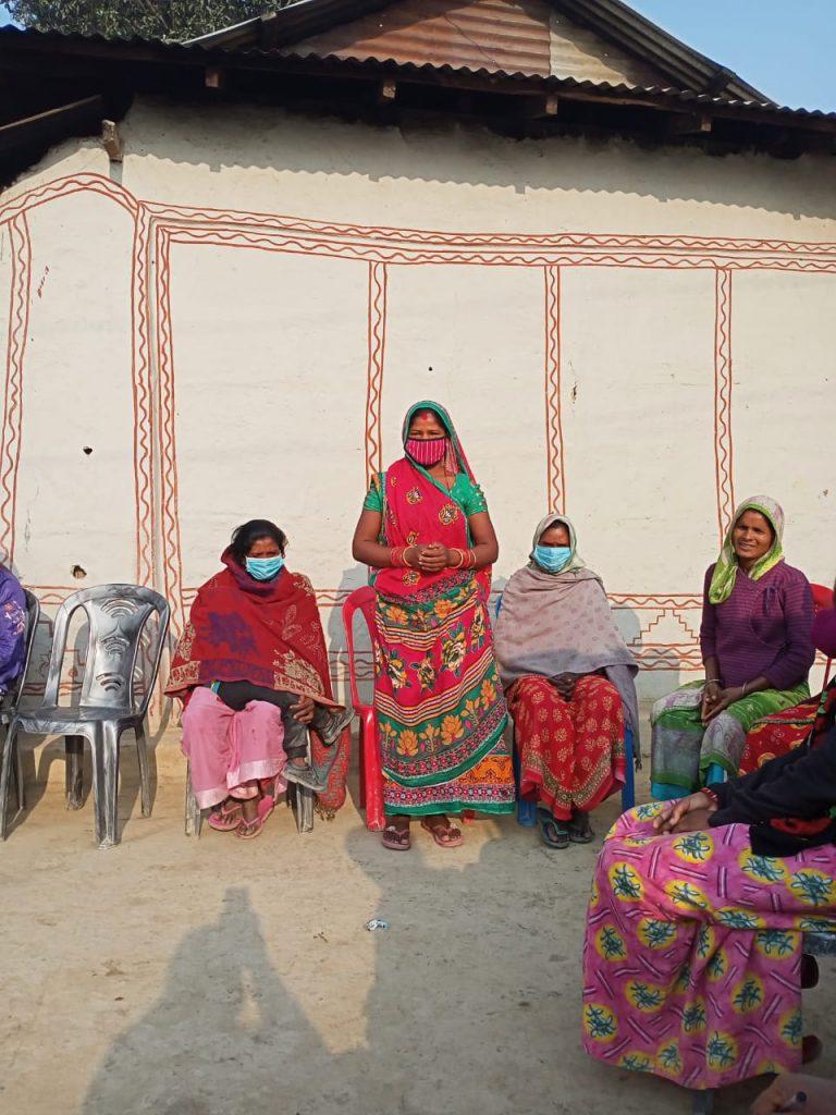 Leader Farmer of Karma Women's Group